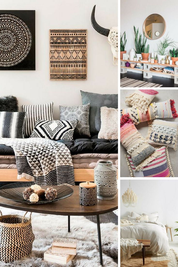 5 Easy Ways To Get The Look Modern Boho Style Home Decor Home