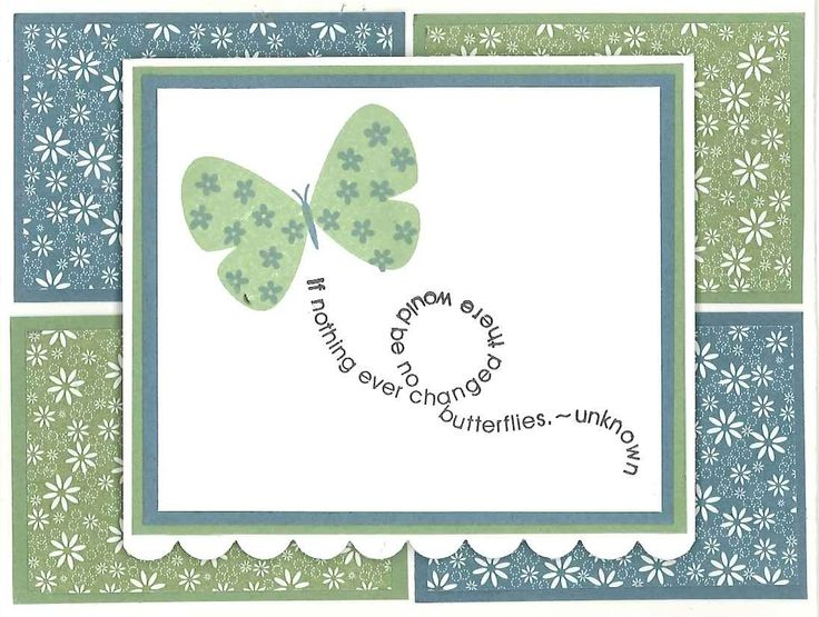 SU! Flight of the Butterfly stamp set.