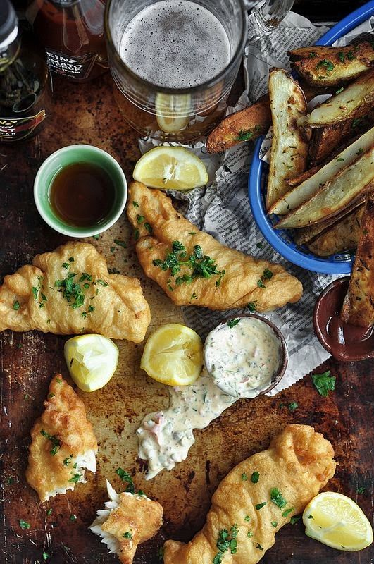 The best food i ever ate beer battered fish a awesome for Best beer battered fish
