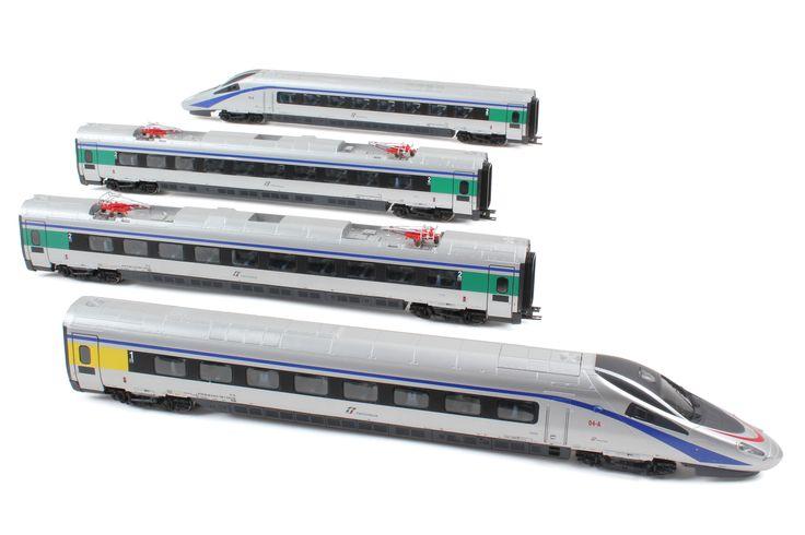 HL1650  ETR610.04 in livrea ex Cisalpino con logo FS Trenitalia.