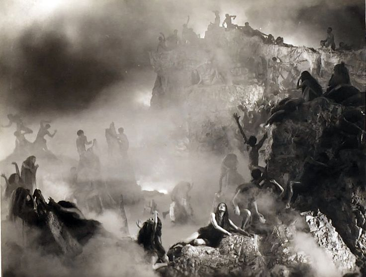 the depiction of hell and sinners in dantes inferno Artistic visions of heaven and hell 1 / 23 back next or rings where categories of sinners vision of hell was in the 1935 drama dante's inferno.