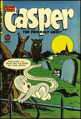 Casper the Friendly Ghost #3, August 1950.