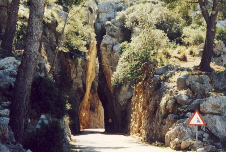 Die Straße nach Sa Calobra, Mallorca - Foto: S. Hopp