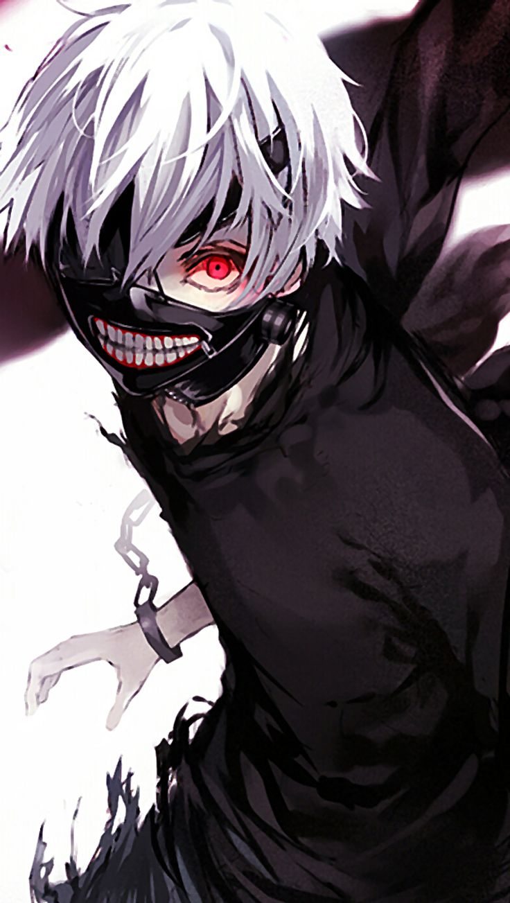 Tokyo Ghoul HD wallpaper (http//apple.co/1SXifkn), Action