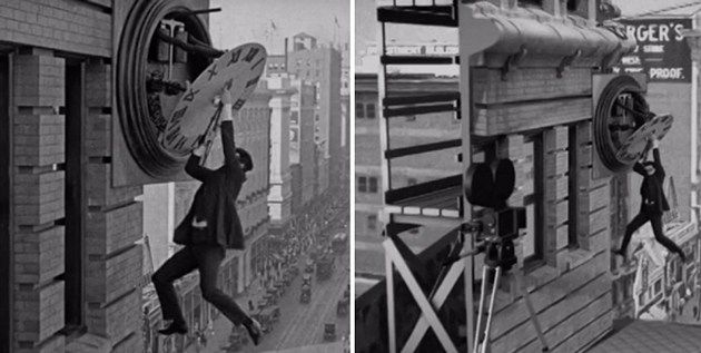 Eye-Opening GIFs Reveal How The Silent Film Era Pulled Off Special Effects