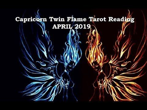 Capricorn April 2019 TWIN FLAME 🔥TWIN SOUL Tarot Reading