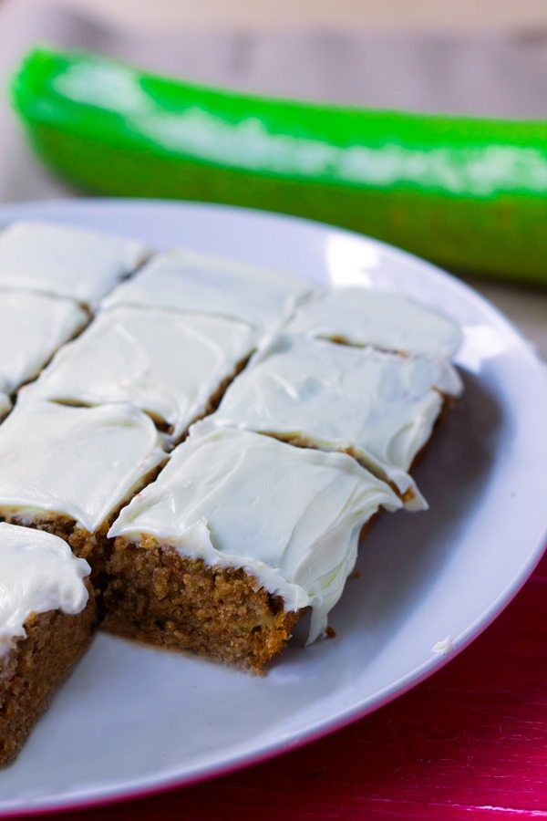 This irresistibly light and wholesomely healthy zucchini cake has an entire cup of zucchini packed into the recipe!