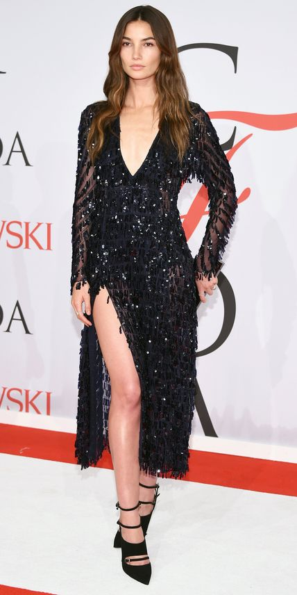 CFDA Awards 2015 Best Red Carpet Looks - Lily Alridge from #InStyle