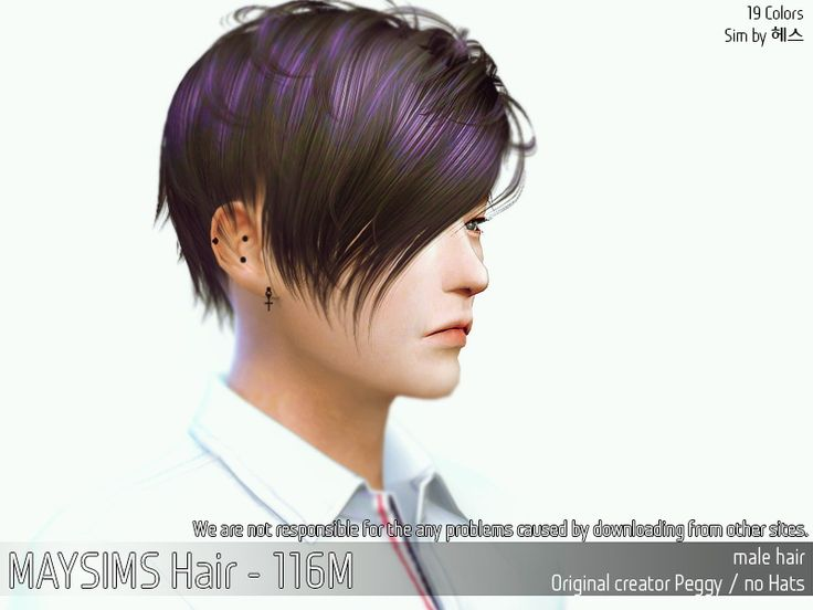 52 Best Sims 4 Cc Male Hair Images On Pinterest Male