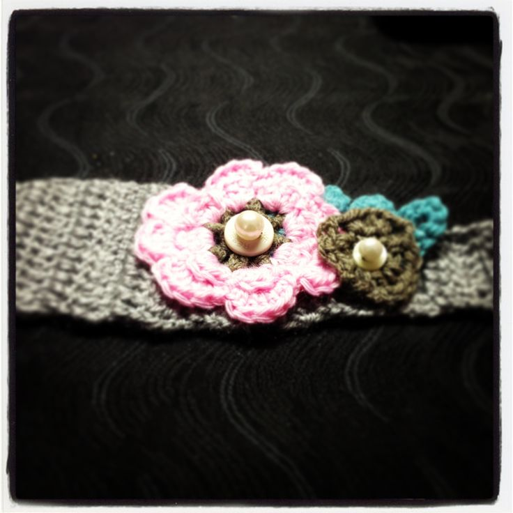Another crochet head band