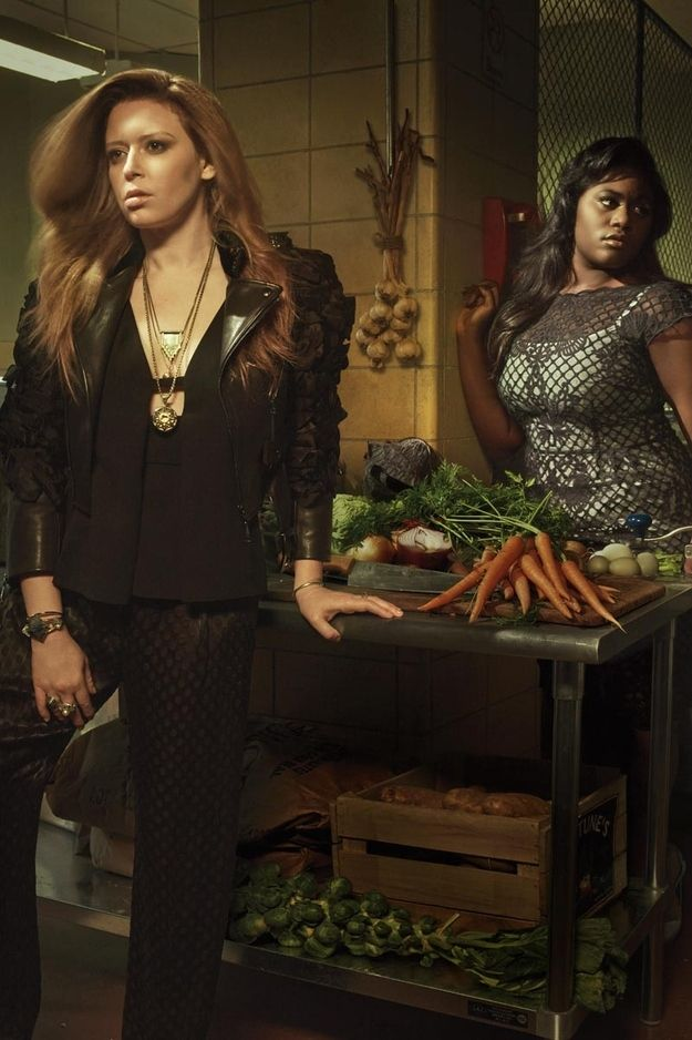 "The ""Orange Is The New Black"" Cast Looks Flawless In Elle"