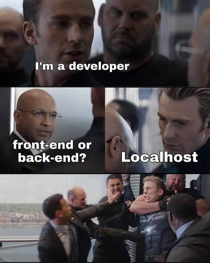 It Makes No Sense But Still Funny Follow Universeofprogrammers For More Programming Dev Tech Dev Funny Marvel Memes Stupid Memes Really Funny Memes