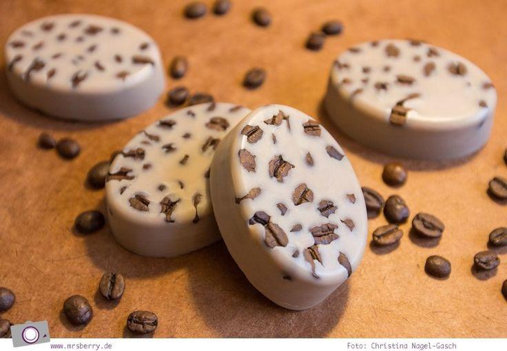DIY Massage-Lotion-Bars / Körperbutter mit Kaffee selber machen