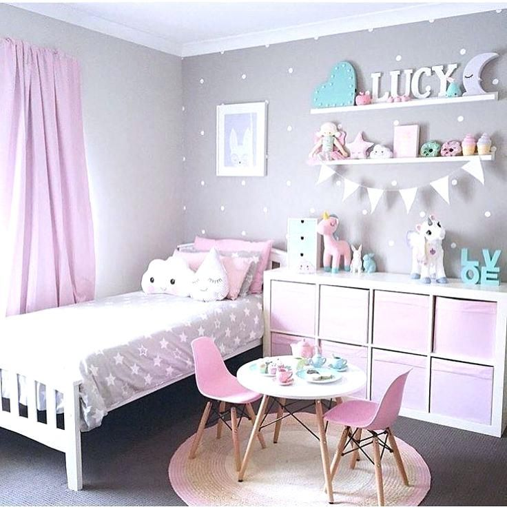 Pink And Gray Girls Room Comely Pink And Grey Girls Room Home Designs Pink And Grey Girls Bedroom Baby Girl R Toddler Bedrooms Girl Bedroom Decor Girls Bedroom