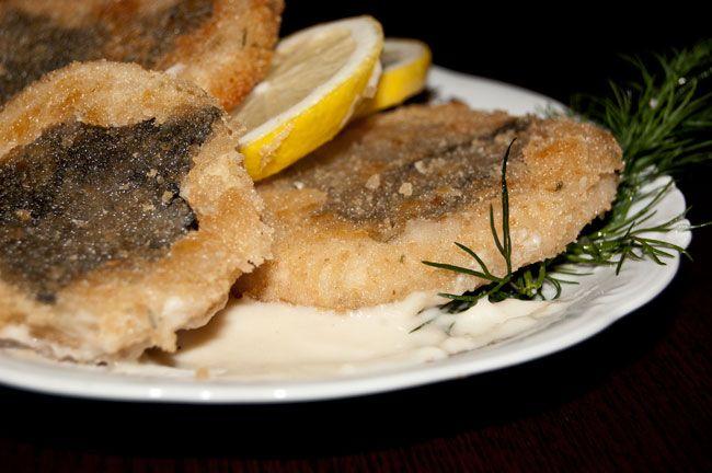 Vegan fish cutlets with celery in lemon sauce healthy for Vegan fish sauce substitute