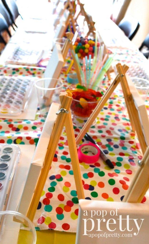 56 Best Images About Art Paint Party Ideas On Pinterest