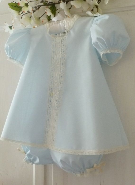 Heirloom Baby Dress and Panty Cover by justforbabyonetsy on Etsy, $63.00