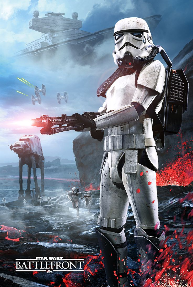 gamestop: Just announced! The pre-order exclusive poster for Star Wars Battlefront