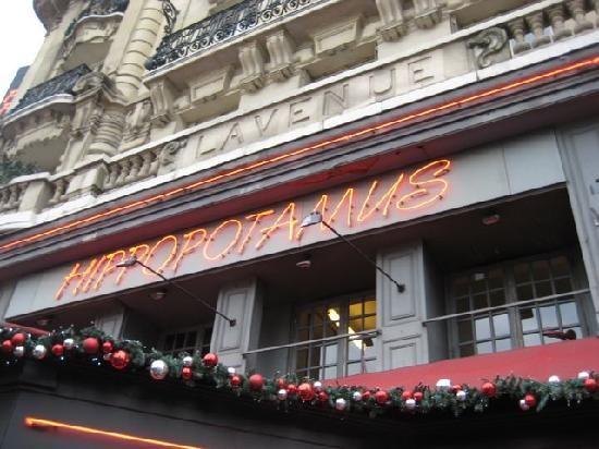 Favorite restaurant for Steak Tartare, Hippopotamus, Paris France