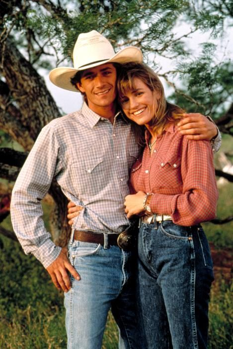 """I probably couldn't even begin to count how many times I've watched this movie in my life. I think every man I've ever dated has hated Luke Perry as Lane Frost! ;) """"8 Seconds"""""""