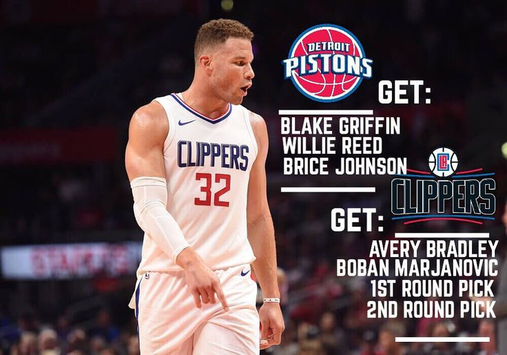 Major major major moves. The Clippers may be starting to rebuild while the Pistons are attempting to contend now. AND TOBIAS HARRIS TO LOS ANGELES - - - - - - - - - - - - - - - - - #newyork #nyc  #la #losangeles #usa  #vegas #canada #toronto #blakegriffin #pistons #detroit #detroitpistons #andredrummond #clippers #averybradley #nba #laclippers #celtics #cavs #trade #college #highschool #graphic #nike #spurs #warriors #ballislife #sixers #knicks