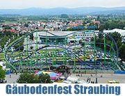 Straubinger Gäuboden Volksfest 2011. Vergnügungspark mit über 100 Geschäften und vielfältigem Angebot vom 12.-22.08.2011 (ƒoot. Ingrid Gross...