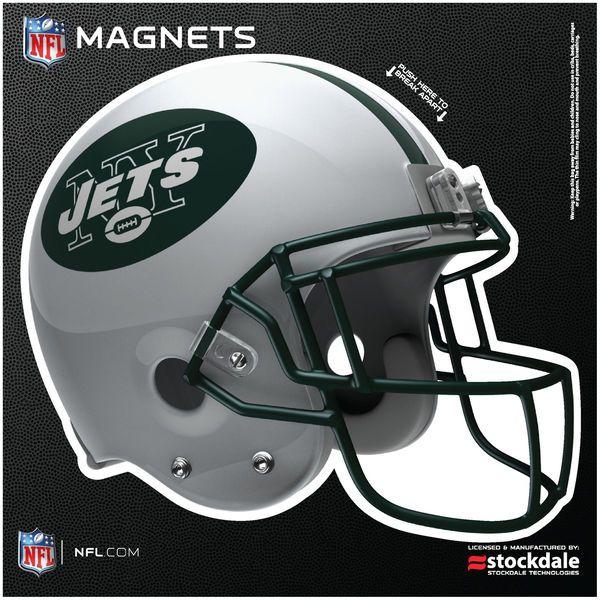 "New York Jets 12"" x 12"" Helmet Car Magnet - $11.99"