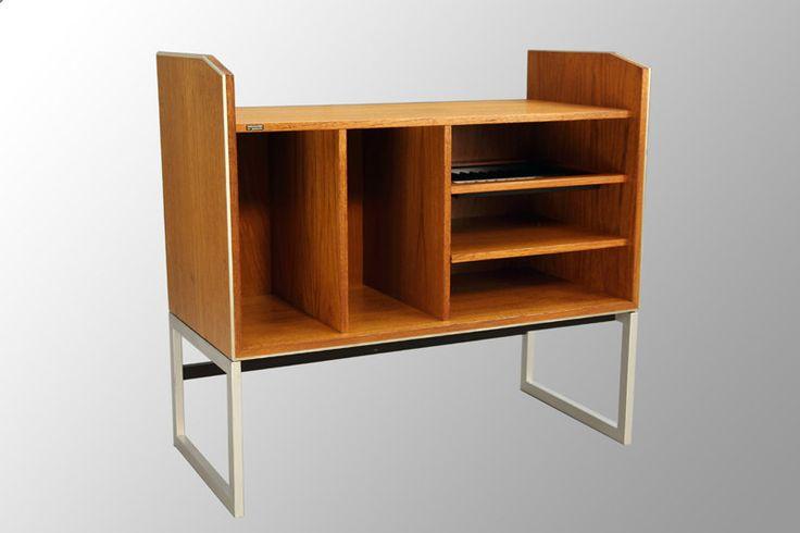 Bang Olufsen Vintage Danish Modern Teak Stereo Cabinet