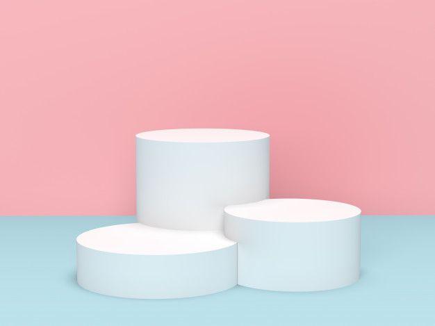 3d Rendering Maket Podiuma Na Displee Cilindra Premium Foto V 2021 G Geometricheskij Poster Dizajn Produktovogo Menyu Abstraktnye Fony
