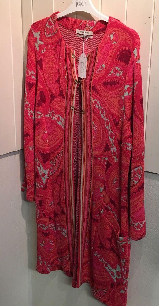 Aldomarson Pink Cardigan Size 16  | eBay