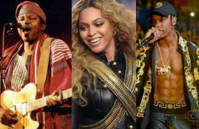 King Sunny Ade Beyonce Kendrick Lamar Travis Scot to perform at 2017 Coachella Festival in America