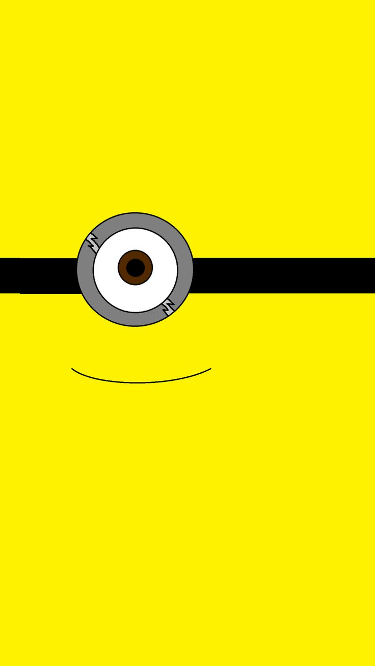 Tumblr iphone wallpaper minions - 2014 Halloween All Yellow One Big Eye Minion Iphone 6 Plus Wallpaper Despicable Me Iphone 6 Plus Wallpaper
