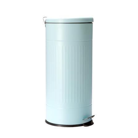 Candy Rose Pedal Bin in Duck Egg Blue (30 Litre)