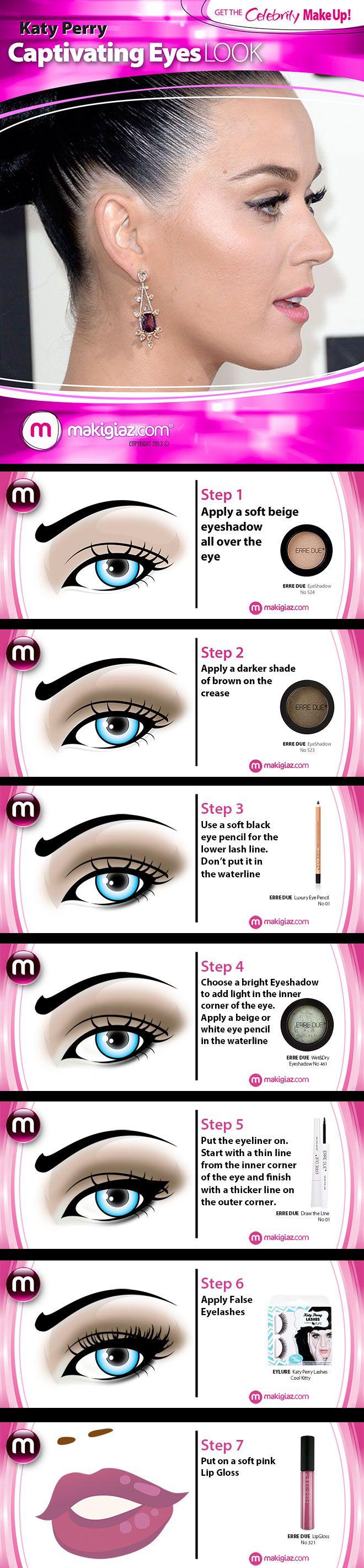 Get The Celebrity Look – Katy Perry's Captivating Eyes English article http://makigiaz.com/blog/gtc-look-katy-perry-captivating-eyes-en/ Greek Article http://makigiaz.com/blog/gtc-look-katy-perry-captivating-eyes-en/