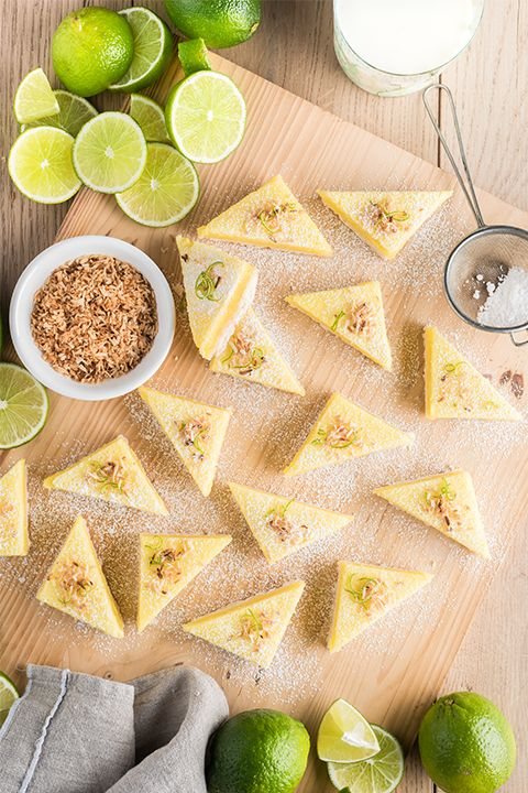 INGREDIENTS BY SAPUTO | These fresh and flavourful key lime energy bars will keep you moving all week long. Easy to prepare, this unique recipe is the perfect idea for a healthy dessert or sweet treat.