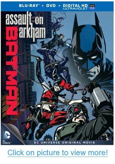 Dcu-Batman Assualt on Arkham Mfv [Blu-ray]