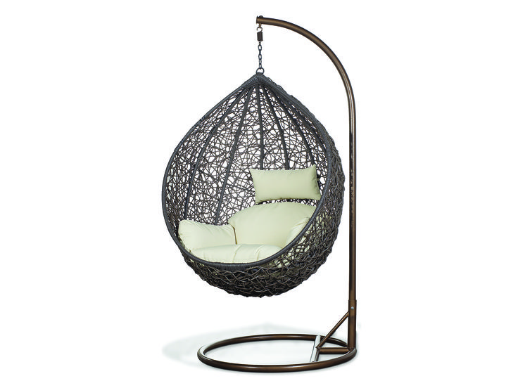 REPOS Outdoor Hanging Chair in Beige l Newell Furniture