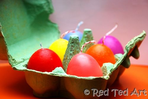 how to make easter eggs without a mould