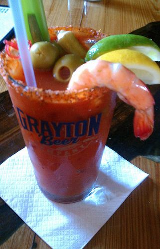 Bloody Mary  - is it like the 'Salad' from Pawnee