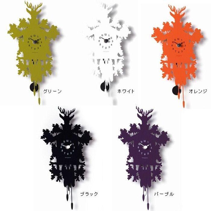 ハト時計鳩時計壁掛け振子壁掛け時計振り子時計はと時計鹿の角おしゃれミニクックーフォレストクロックMINICUCKOOFORESTCLOCK木製壁掛け時計振り子子供部屋インテリアカフェアナログ北欧ナチュラルデザイナーズ北欧モダンプレゼント