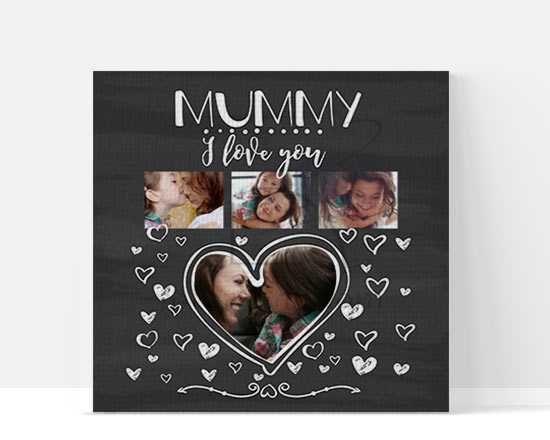 Foto Collage Mummy