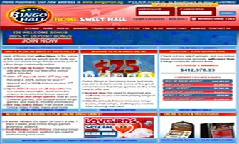 "Bingo Hall is an online bingo brand, holding a gambling license in Costa Rica.within the ""Winward Gaming Group"". Bingo Hall operates in English and accepts players from USA. Bingo Hall offers you ""Online Slots"" and ""Video Poker"" as well a ..."