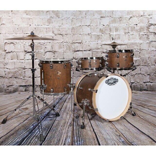 Liberty Drums bop kit, 12x8, 14x14,.18x14, 14x5.5sn