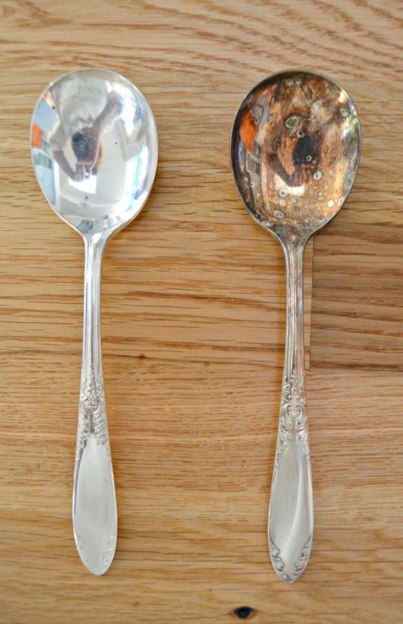 7 Ways To Clean Silver And Remove Tarnish Salvaged Living How To Clean Silver Cleaning Hacks Clean Dishwasher