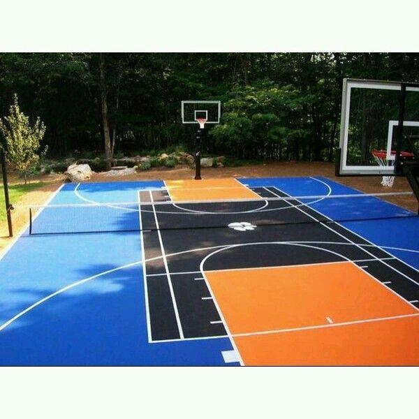 court designs on pinterest backyard sports outdoor basketball court