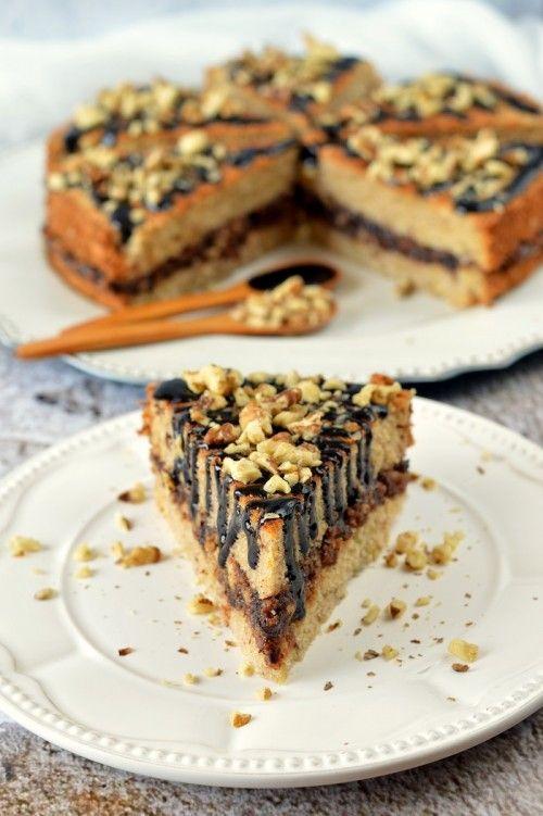 Cukkinis-szilvalekváros torta recept