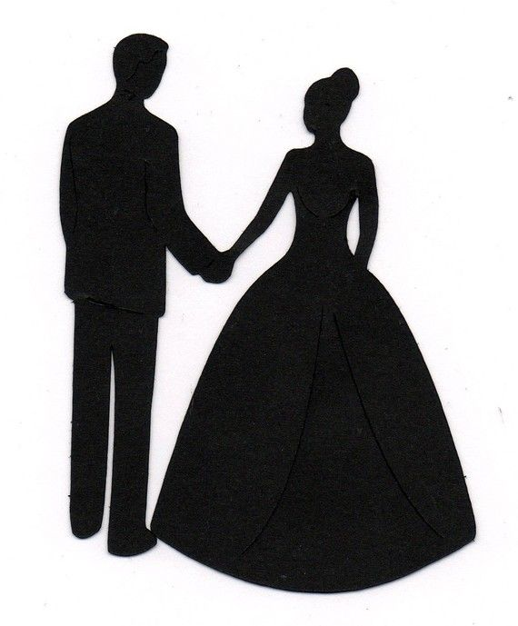 17 Best ideas about Wedding Silhouette on Pinterest | Vector ...