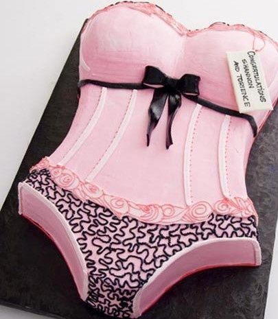 Bachelorette party cake idea