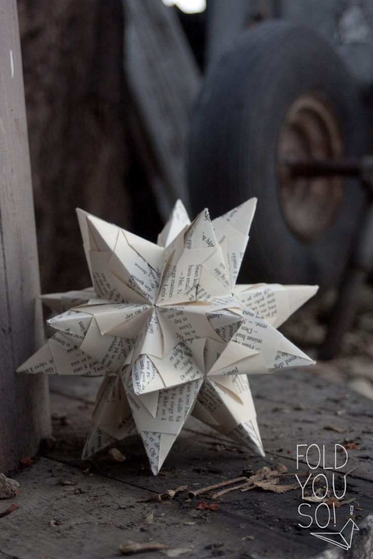 DIY: Bascetta-stjerne | fold you so!