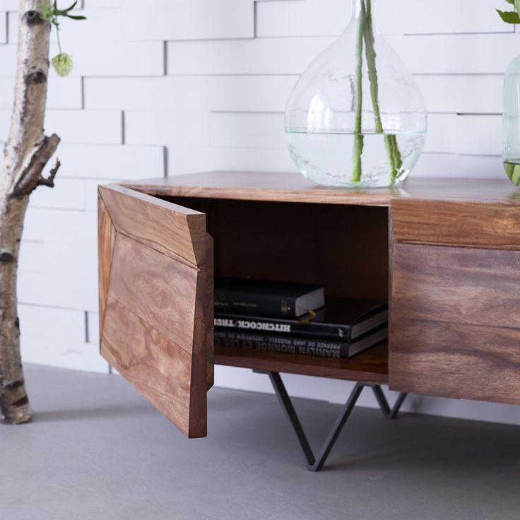 Achat Meuble TV en Palissandre Design Moderne - Tikamoon